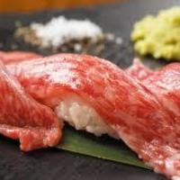 遠州夢咲牛サーロイン炙り寿司