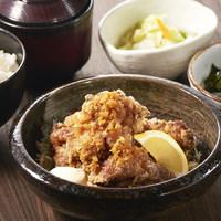 北海道ザンギ葱たれ定食